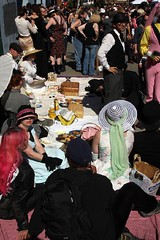 Prim Queer Tea Party (Andy Frazer) Tags: folsom folsomstreetfair folsomstreetfair2007 primqueertea