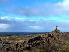 Reykjanes Ridge Cairn