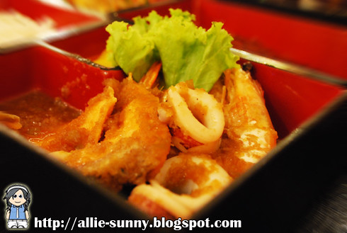 Stir Fried Seafood