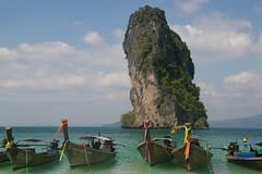 Not an iceberg (Johan_Leiden) Tags: sea cliff beach thailand island tropical limestone karst tropics longtailboat krabi aonang poda abigfave visionqualitygroup photovisionquality100