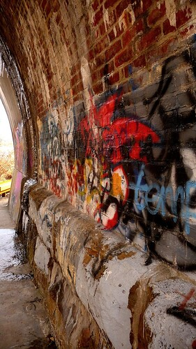 Inside The Bridge Archway
