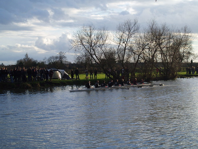 M1 rowing up