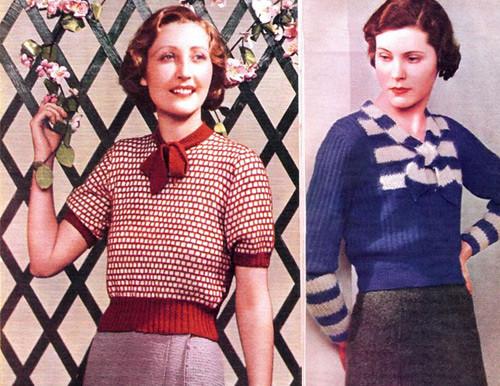 Vintage 1930s Sweaters