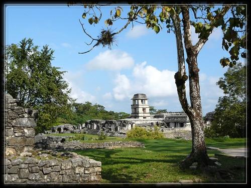 Palenque, Maya,site archeologique