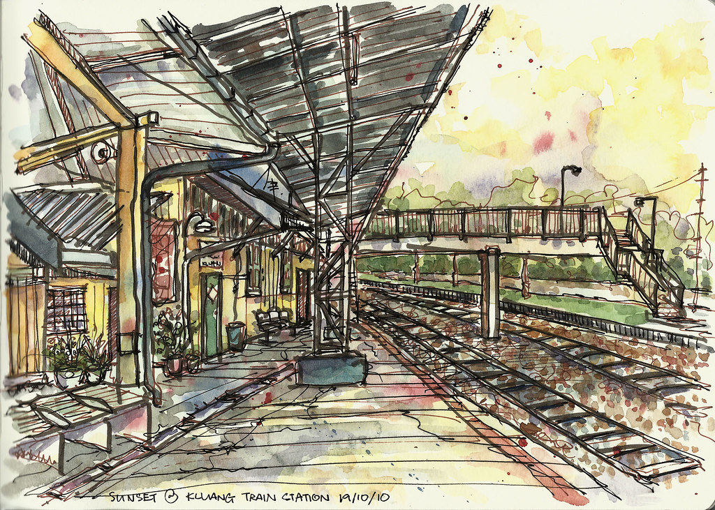 Kluang Train Station, Malaysia