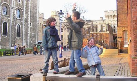 Crianças na Torre de Londres