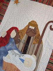 .:. Pan Sagrada Famlia - Close .:. (Bonecos de Pano .Com) Tags: natal patchwork sagradafamlia aplicao enfeitenatal enfeitedeporta decoraonatal pannatal