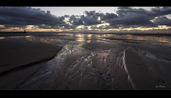 Pools of gold, wonderful light on Crosby beach, Explore Frontpage (Ianmoran1970) Tags: sea sky irish cloud beach wet water beautiful liverpool reflections wonderful river landscape gold sand colours place boots wind explore waterloo pools anthony another frontpage mersey windfarm gormley crosby turbines anthonygormley anotherplace ironmen muddyboots explored ianmoran ianmoran1970