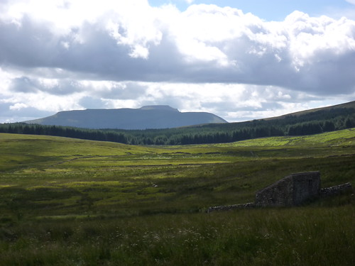 Ingleborough in the distance