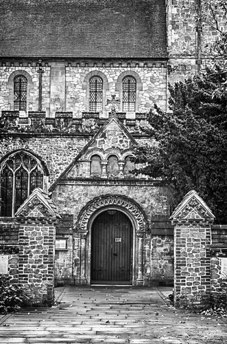 Church, Peterfield (Soft Monotone Preset)