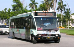 Miami-Dade Transit 3358 2000 Optare Solo on 20th Street, Miami Beach on the South Beach Local (Mega Anorak) Tags: bus solo miamibeach optare miamidadetransit southbeachlocal