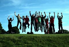 Some of the Salisbury Flickr Group (murburger01) Tags: old grass fun jumping flickr shot group meeting salisbury meet sarum flickrfriendsgettogether
