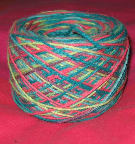 First yarn cake