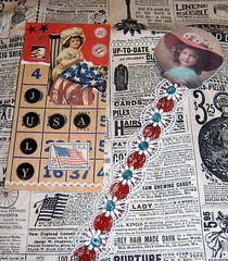 Patriotic Bookmark Swap (She'sSewPretty) Tags: patriotic redwhiteandblue