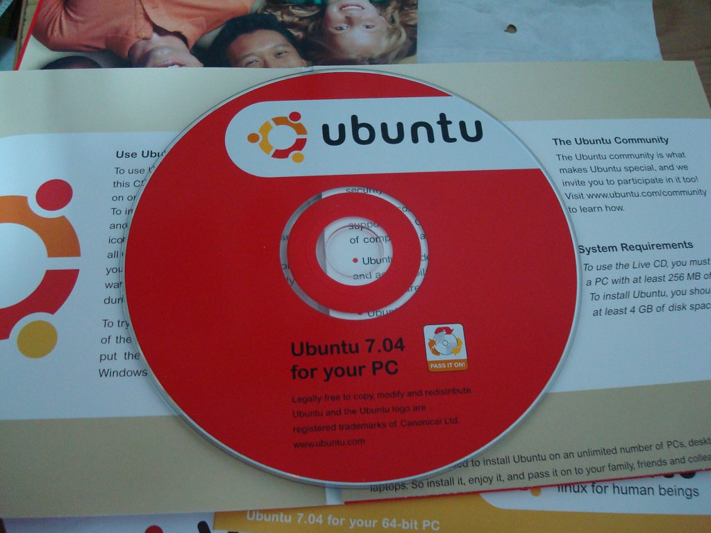 Ubuntu 7.04 x86