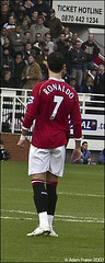 Cristiano Ronaldo (Adam Frater) Tags: madrid man portugal real football utd kick free 7 captain million 80 fulham ronaldo cristiano nani winger eighty cr7 cr9 disallowedgoal