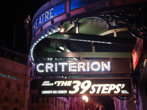 The 39 Steps Playing at the Criterion