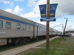 Train Ride from Churchill to Winnipeg