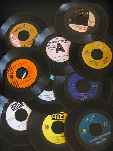 A matter of record: vinyl magic - soulful 45's