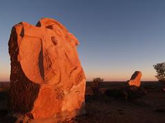 P4236853 (Steve Daggar) Tags: sunset sculpture australia brokenhill olympuse1