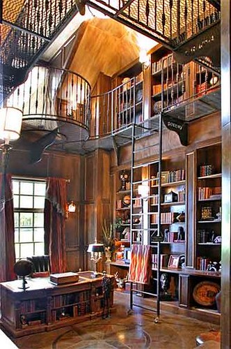 Two Story Library