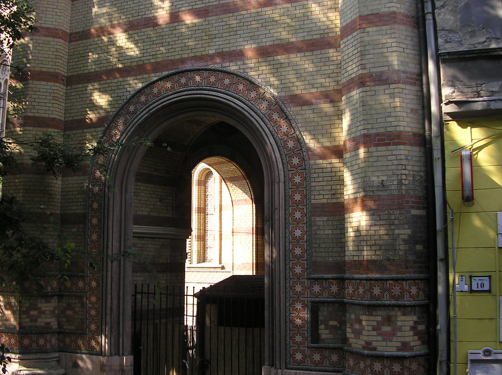 Synagogue doorway
