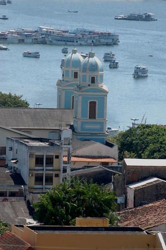 Torres gêmeas da Conceição (Santarém, Tapajós)