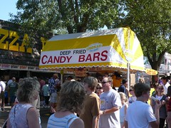 Fried Candy Bars... (kaekiknits) Tags: food mnstatefair