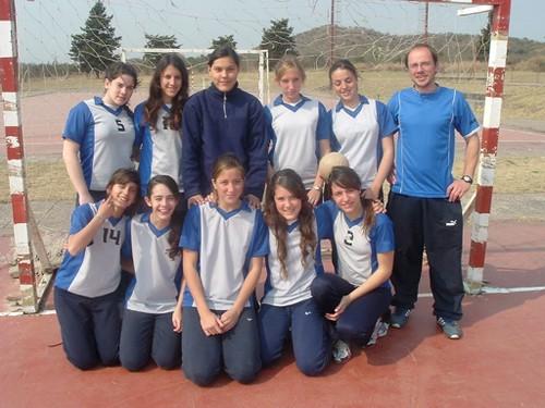 Equipo de Handboll Femenino I.P.A.P.