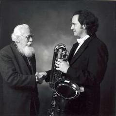 met leraar, vriend en mentor Jan van Dijk, 1999 (andreasvanzoelen) Tags: jan van dijk
