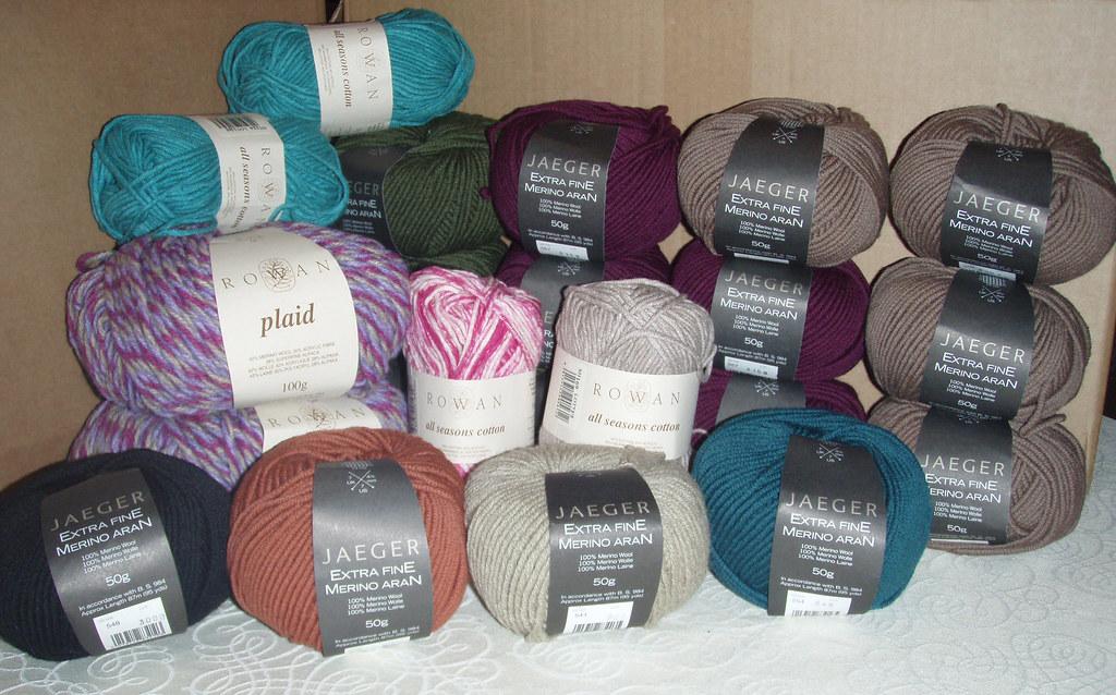 Loads o' yarn!