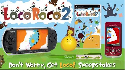 LocoRoco 2 Event PAGE
