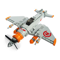 Shidsha Zero - Sky Fighter (Fredoichi) Tags: fighter lego space shooter shootemup skyfi shmup skyfighter fredoichi