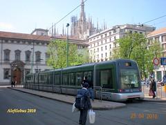 Milano tram Sirio n7007 al ca