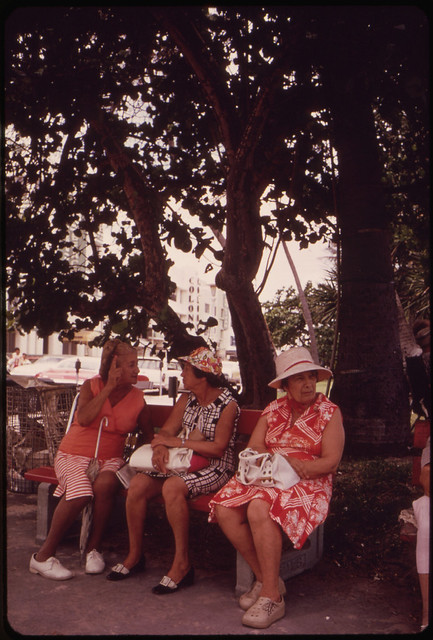 Typical Scene in the South Beach Area Location of a Large Retirement Community by The US National Archives
