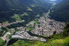 Tione di Trento e la sua zona industriale (fatboypellegrini by Raphy) Tags: town trento trentino paese tioneditrento
