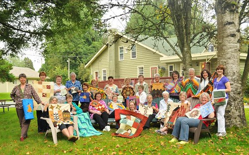 Quilter's Connection Magazine Quilt Retreat 2010