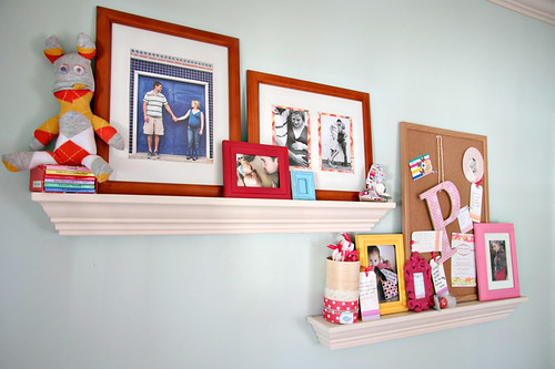 Sweet P's Nursery - Shelves
