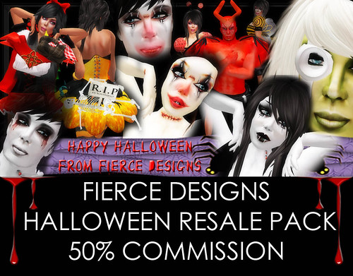 HALLOWEEN RESALE PACK POSTER 2010