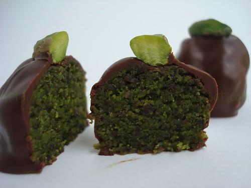 Cioccolatini pistacchio