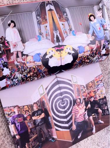 プリンツ21に楳図ファンの方々のコスプレ写真が掲載されています!