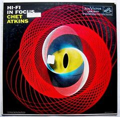 CHET ATKINS 1950s In Focus LP record album vintage vinyl (Christian Montone) Tags: records vintage graphics vinyl albums 1950s lp pricetag lps infocus opart chetatkins korvettes
