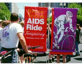 Gay Pride Parade, June 1995, Boston