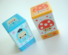 :: Q-lia Stamps :: (Warm 'n Fuzzy) Tags: cute mushroom phone stamps cellphone kawaii stationery qlia mushie selfinkingstamps