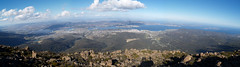 Hobart from Mt Wellington (flash62_au) Tags: panorama australia olympus tasmania hobart tas tassie mtwellington e500