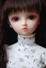 New Girl - Etty (*Pnutt*) Tags: dollfie sd10 sd f01 foursisters volks superdollfie bjd megu bibish doll brunette etty