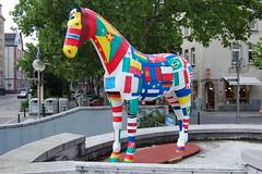 Horse Art #5 (picture_addicted) Tags: horse art d50 nikon jubilee kunst pferd mannheim 2007 jubiläum pictureaddicted