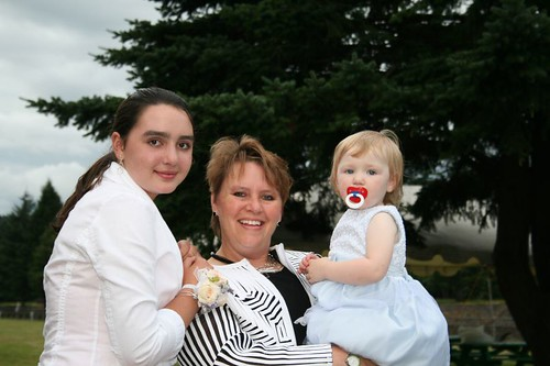 Sarah, Claire and Leda
