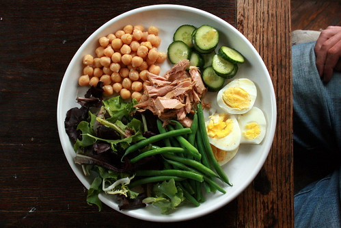 Nicoise Salad & Pimm's Cups 007