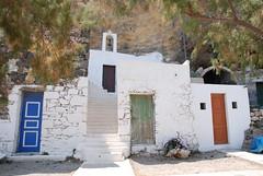 small church and houses Nysyros (Peter Close) Tags: mandraki